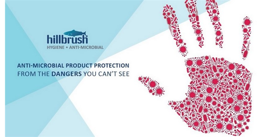 Hillbrush Anti-Microbial Cleaning Tools